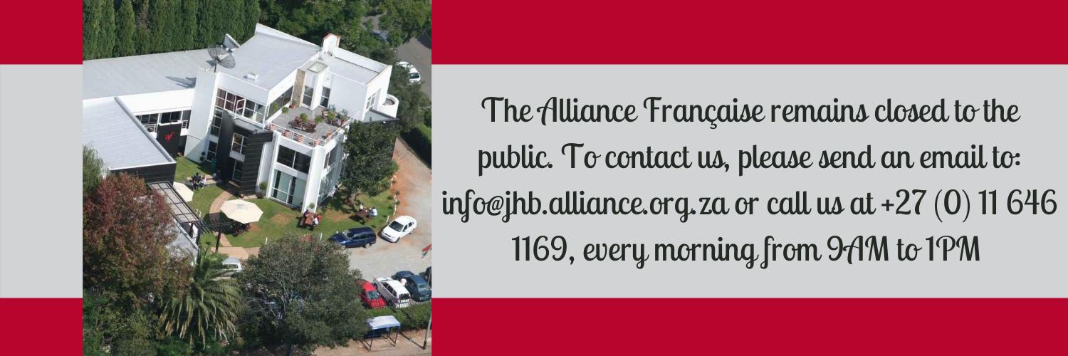 Bannière Alliance closed