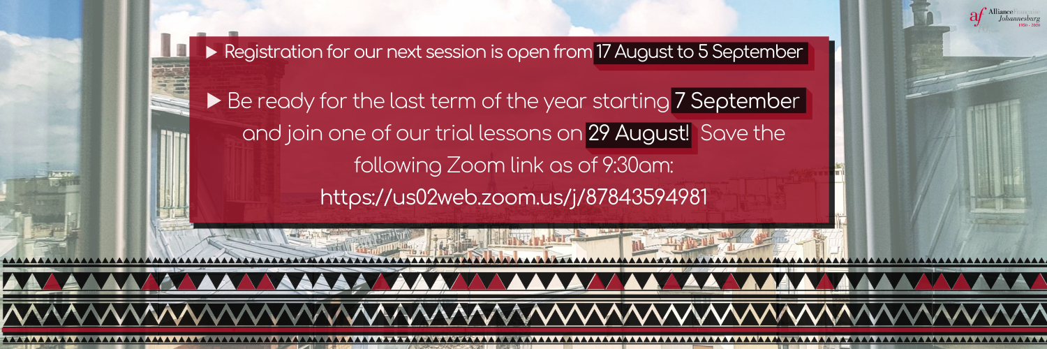 On 29th of August be ready for our online Open Day! Free online trial lessons will be organized. Please follow our social media and our website for further details (2)