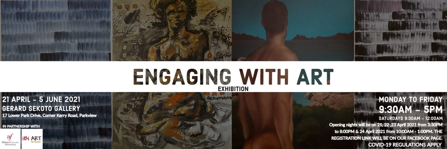 ENGAGING WITH ART EXHIBITION WEB BANNER